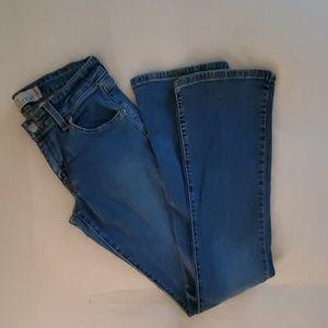 Levi's 518 boot cut jeans 3 long